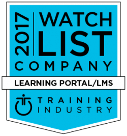 Training Industry Inc's 2017 Learning Portal Companies Watchlist Features Gyrus Systems LMS