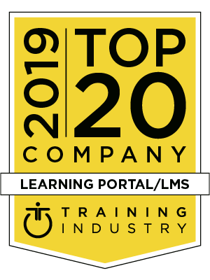 Training Industry Inc's 2019 Top 20 Learning Portal / LMS Features Gyrus Systems LMS