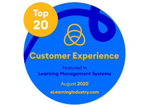 eLearning Industry ranked GyrusAim as # 3 in Top 20 LMS for Customer Experience