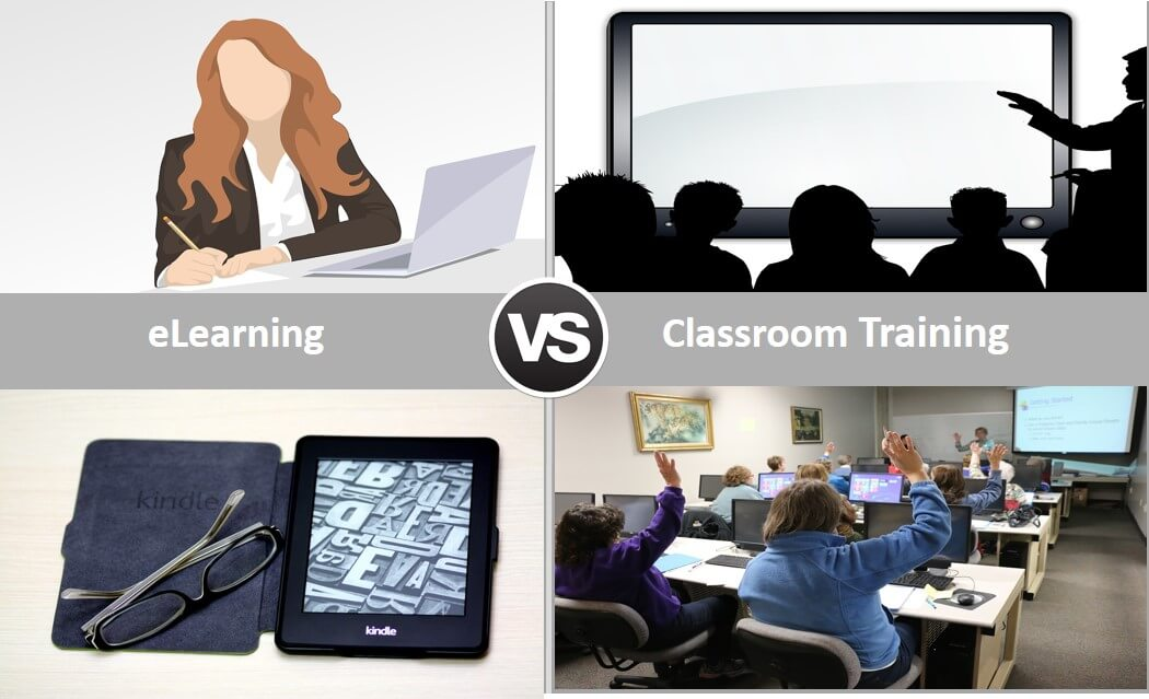 Elearning Vs Classroom Training - Let's Understand Their Pros and Cons