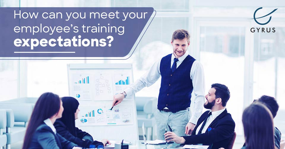How can you meet your employee's training expectations