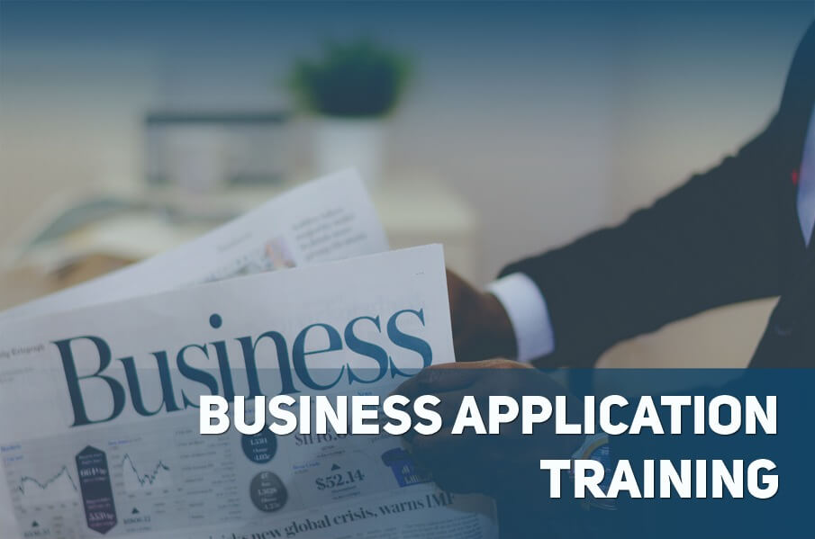 What Business Application Training Accomplishes